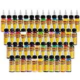 Tinta De Tatuaje, Tattoo Ink 16 Color Set 1 Oz 30ml / Bottle Kit De Pigmento De Maquillaje Permanente Body Paint Color Tattoo Supply Beauty Tools, El Kit del Tatuaje