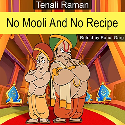No Mooli and No Recipe audiobook cover art