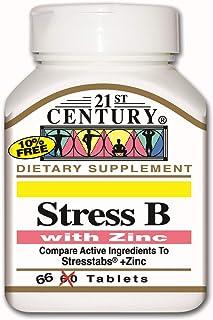 21st Century Stress B with Zinc - 66 Tabs