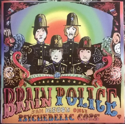 San Diegos only Psychedelic Cops- CD 1968 Shadoks