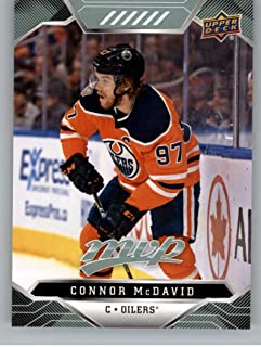 2019-20 Upper Deck MVP Hockey #209 Connor McDavid Edmonton Oilers Official NHL Trading Card from UD