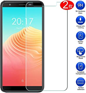 Maxku Ulefone S9 Pro ガラスフィルム 日本旭硝子素材採用 高透過率 薄型 硬度9H 飛散防止処理 2.5D ラウンドエッジ加工 自動吸着 Ulefone S9 Pro 液晶保護フィルム【2枚入り】