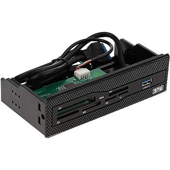 gazechimp 5.25インチ USB3.0パワーデスクトップケース フロントドライバパネル内蔵カードリーダー