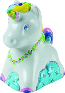 Melissa & Doug Created by Me! Unicorn Bank Craft Kit (Arts & Crafts, Painting & Decorating Keepsake, Great Gift for Girls and Boys - Best for 8, 9, 10 Year Olds and Up)