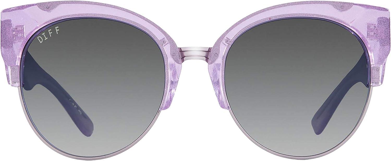 Diff Eyewear  Stella  Designer Cat Eyes Sunglasses  100% UVA UVB