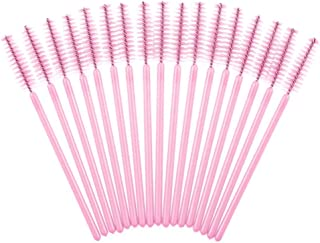 MAYCREATE® 100PCS Disposable Eyelash Mascara Brushes?Makeup Brush Mascara Wands Eye Lash Eyebrow Applicator Cosmetic for Eyelash Extensions ?Pink?
