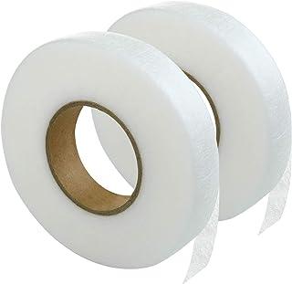 LIHAO 布用テープ 両面接着テープ アイロン接着テープ 裾上げテープ 布用両面テープ 幅20㎜ 70cm巻 2巻入り