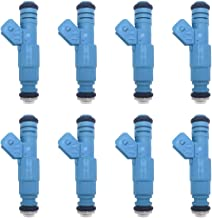 JSBOYAT 0280155715 Engine Fuel Injectors for Ford Chevrolet Dodge Jeep Lotus Pontiac Porsche (Set of 8)