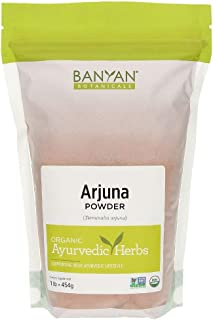 Banyan Botanicals Arjuna Powder - USDA Certified Organic - Terminalia arjuna - Ayurvedic Bark Powder for a Healthy Heart*