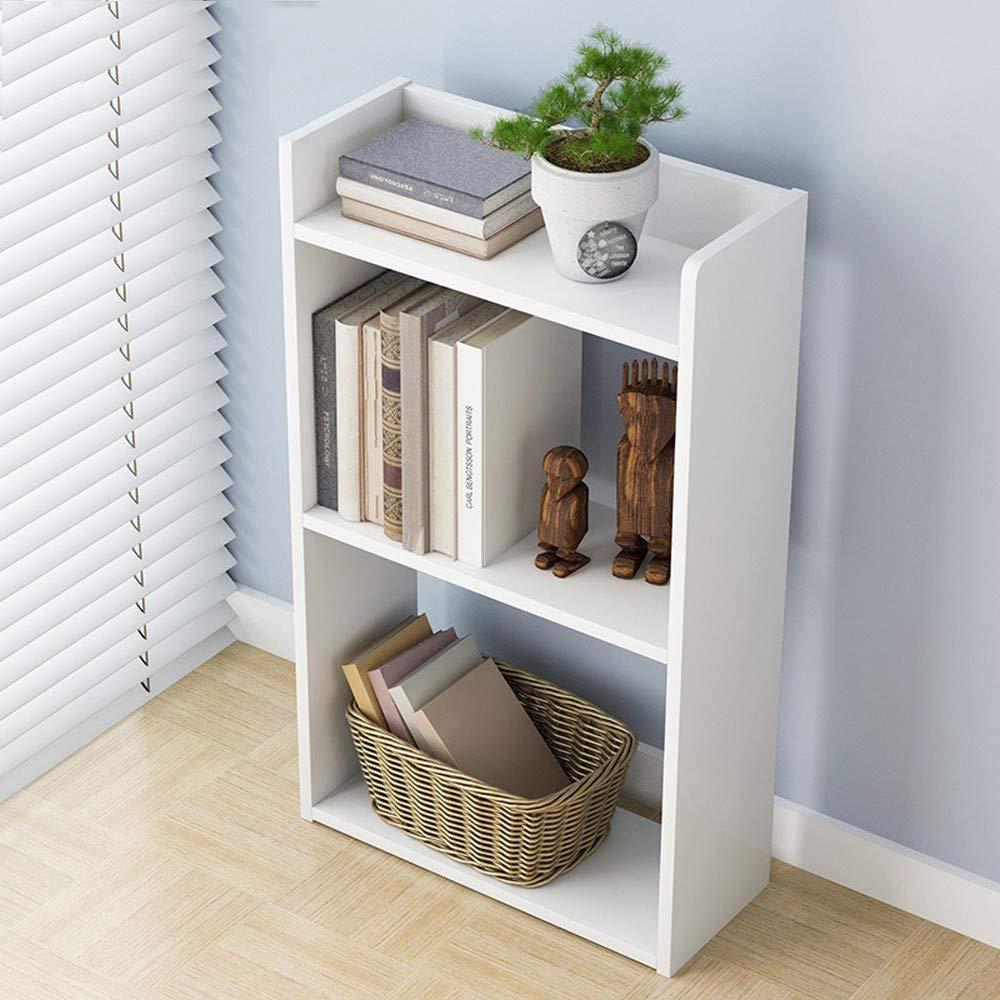 US Fast Shipment Quaanti 10-Shelf Bookcase Display Rack,10-Tier Wood Storage  Shelf Floor Bedroom Shelf Free Combination Small Bookcase Bookshelf Cube