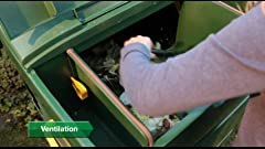 Amazon.com : Worm Factory 360 WF360G Worm Composter, Green ...