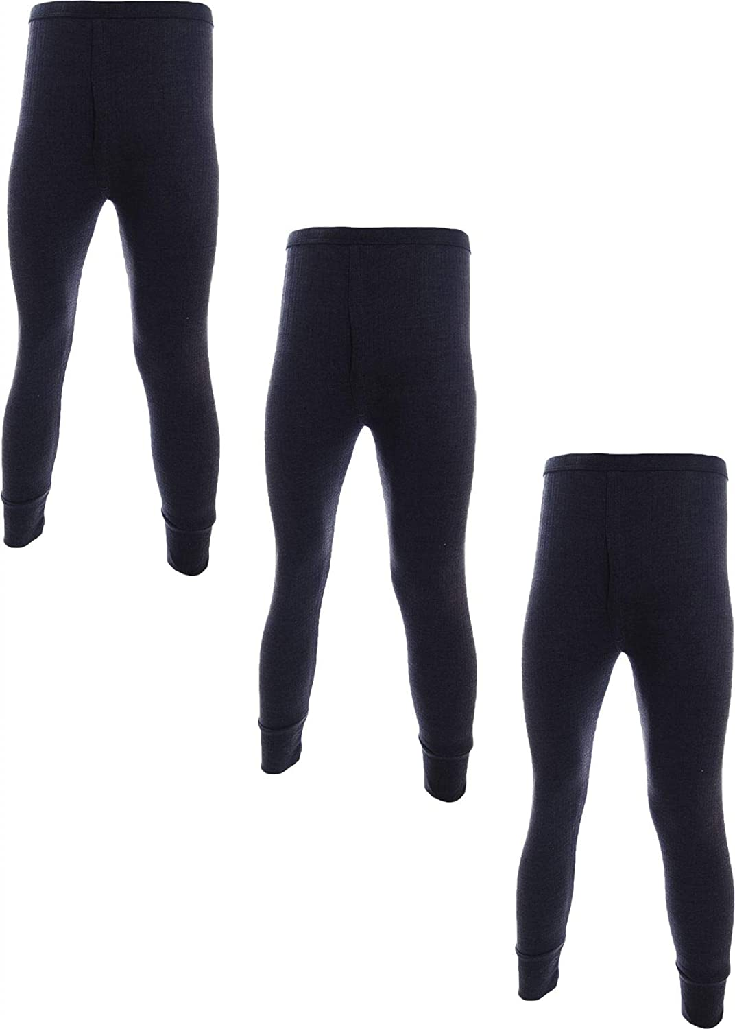 3 Pairs Mens Undercover Brushed Thermal Vests and Long Johns