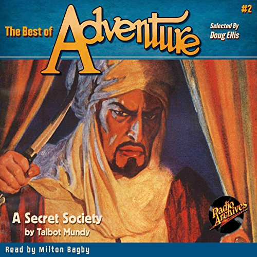 The Best of Adventure #2: A Secret Society audiobook cover art