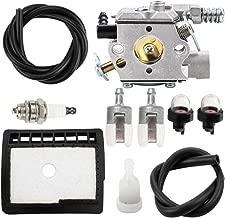 Leopop WT-589 Carburetor for Echo CS300 CS301 CS305 CS340 CS341 CS345 CS346 CS3000 CS3400 Chainsaw WT-589A WT-589-1 Carb Air Filter Tune Up Kit