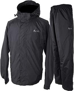 Rain Suit (Jacket + Pants), 100% Waterproof, Breathable,...