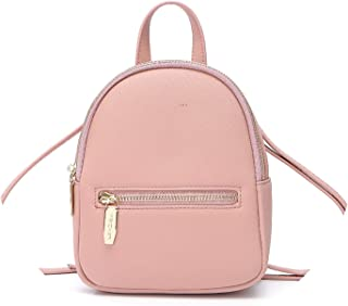 NJIWSS Designer Women Backpack Mini Soft Touch Multi-Function Small Backpack Female Ladies Shoulder Bag Girl Purse