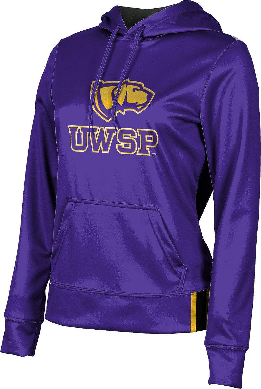 ProSphere University of Wisconsin-Stevens Point Girls' Pullover Hoodie, School Spirit Sweatshirt (Solid)