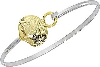 Cape Cod Jewelry Quahog Clam Shell Bracelet