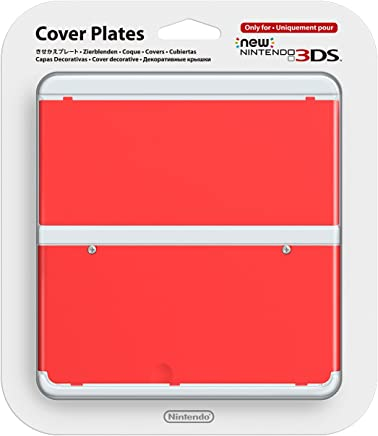 New Nintendo 3DS Cover Plates No.011 Red