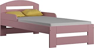 Children's Beds Home Lit Simple en Bois Massif - Kiko sans Matelas et sans Tiroirs (140x70 - sans Tiroirs - sans Matelas, ...