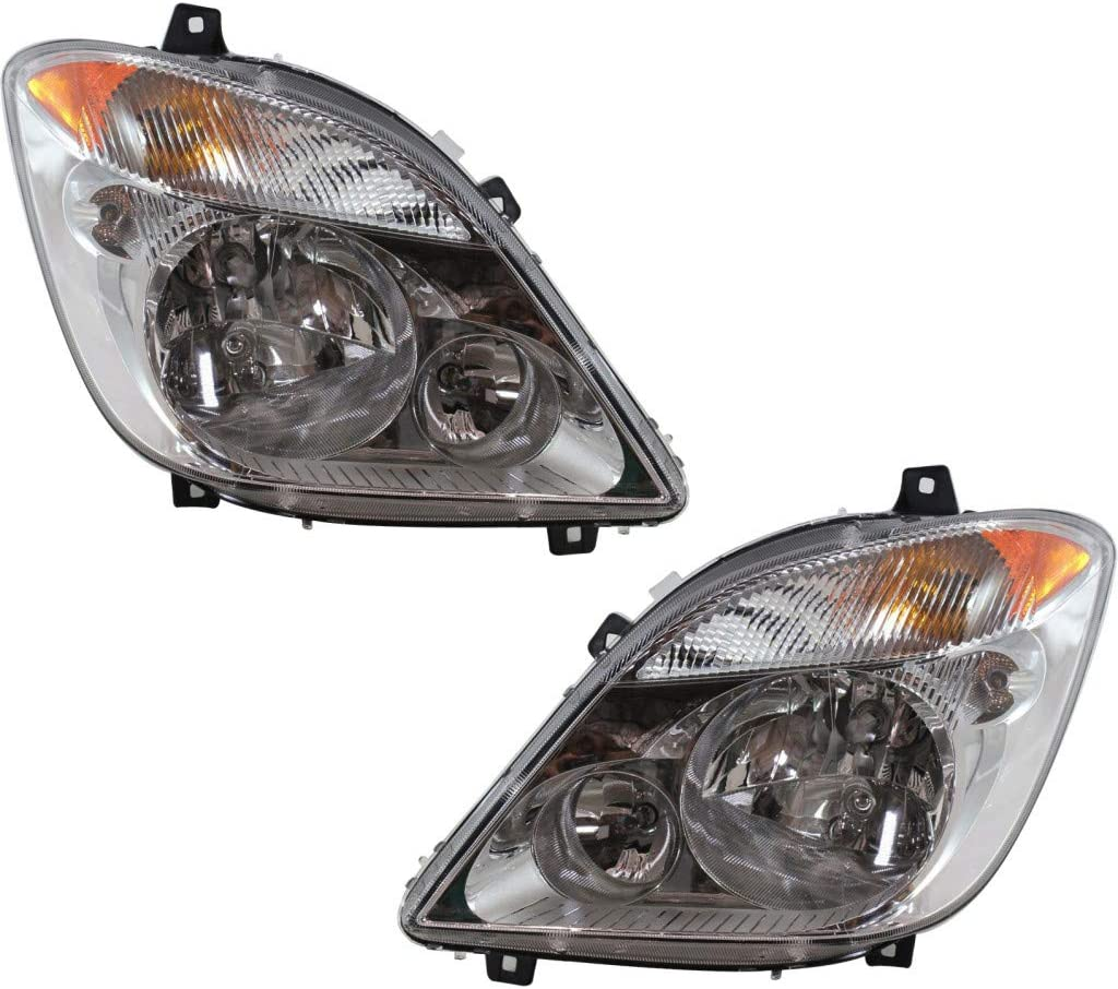 For Dodge Milwaukee Mall Sprinter 2500 3500 Headlight Assembly D Max 41% OFF 2007 2008 2009