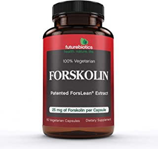 Forskolina, 25 mg, 60 Veggie Caps - Futurebiotics