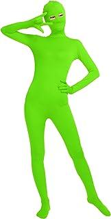Shinningstar Unisex Women's Men's Cos Bodysuit Eyes Open Spandex Zentai Full Body Unitard