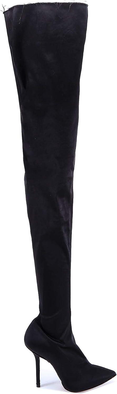 VETEMENTS Luxury Fashion Damen 17966VE102schwarz Schwarz Stiefel   Jahreszeit Permanent
