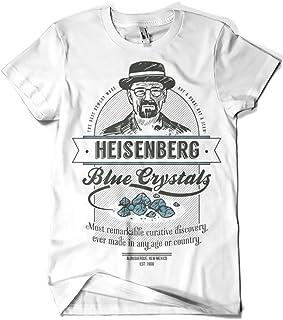 Camisetas La Colmena - 427-Maglietta, Breaking Bad - Blue Crystals (Azafran)