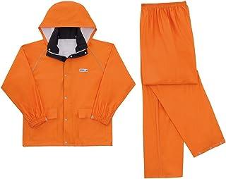 CO-COS コーコス 透湿レインスーツ Z-2200 オレンジ Sサイズ
