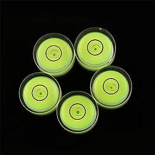 12 قطعة/عبوة فقاعات صغيرة المستوى 15 × 6 مم دائرة مصغرة مستوى فقاعات بولي مستويات الروح لمنظار ثلاثي الفونوغراف أدوات قياس...
