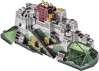chiwanji メタルパズル 3Dモデルポタラ宮モデル 中国古代の建物 インテリア装飾 模型愛好家 収集品
