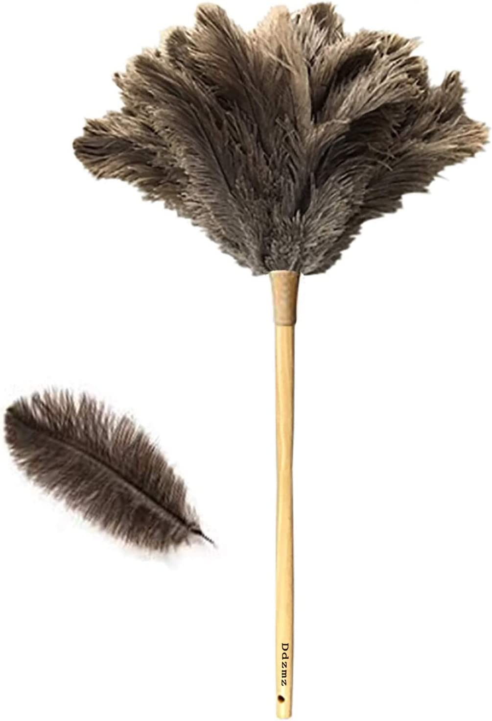 Feather Duster for Home Natural NEW before selling O Genuine Fluffy sold out