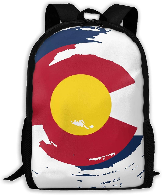 d41ae767445b Adult Shoulder colorado Flag Tornado Multipurpose 3D Printing Casual ...