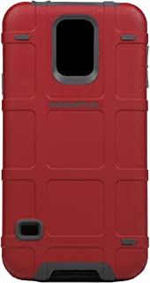 Magpul Bump Case for Samsung Galaxy S5 - Retail Packaging - Red