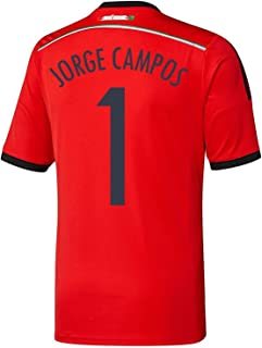 Jorge Campos #1 Mexico Away Jersey World Cup 2014 Youth.