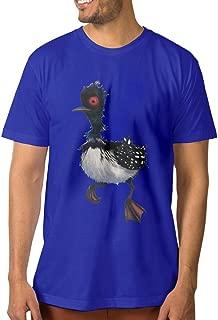 PTCYM Cute Bird Beck Design Particular Men's Tees DeepHeather