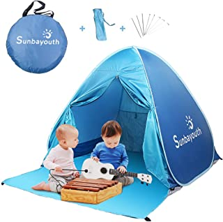 Anti UV Instant Portable Tent Sun Blue SUNBA YOUTH Beach Tent Beach Shade