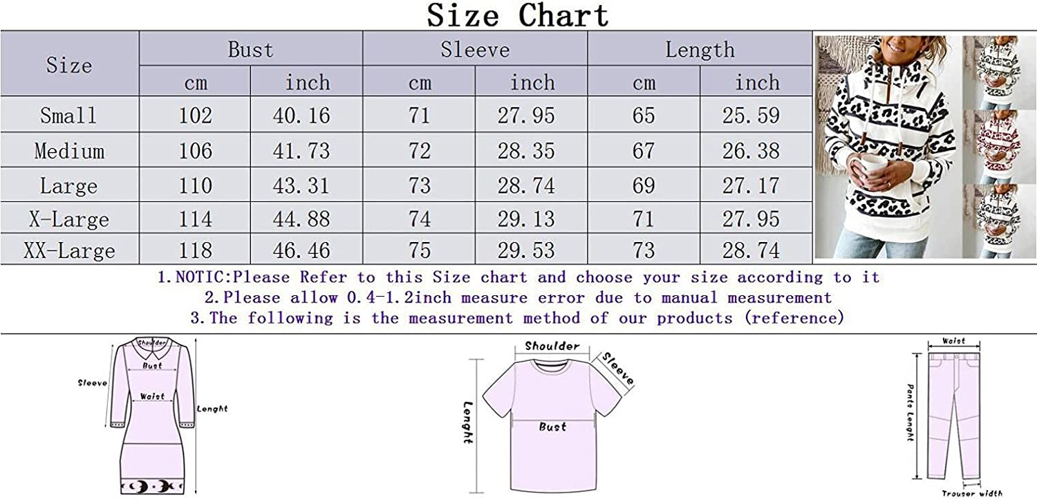 FABIURT Hoodies for Women, Womens 1/4 Zip Hoodies Fashion High Collar Striped Casual Loose Fit Long Sleeve Tops Pullover