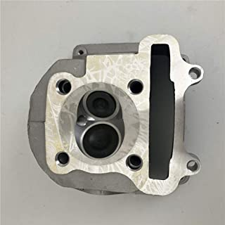 AH GY6 180cc 61mm Cylinder Head Assy with 69mm valves for 152QMI 157QMJ Scooter Moped ATV Go Kart Quad