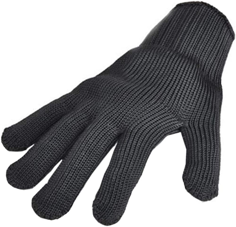 Womens Wool Winter Warm Knit Gloves, Cut Resistant Gloves Touch Screen Thick Thermal Lined Anti-Slip Cuff Driving Gloves