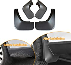 Upgraded Car Mudguards Splash Guards for 2010-2013 KIA Soul Sport Front Rear Mudguards Wheel Accessories Styling & Body Fittings 4Pcs Black