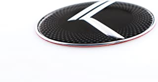 NEW VINTAGE K Steering Wheel Emblem Badge Overlay FOR KIA MODELS (LODEN)