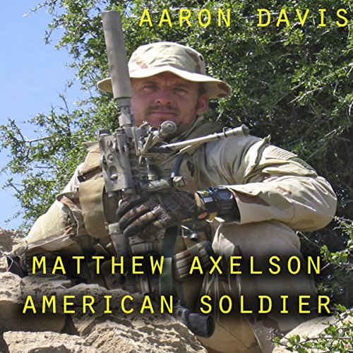 Matthew Axelson: American Soldier cover art