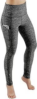 Women High Waist Out Pocket Yoga Pants, Gym Workout Running Stretch Yoga Leggings