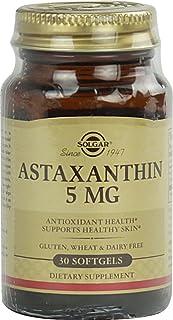 Astaxanthin 5 mg Softgels, 5 mg, 30 S Gels (Pack of 4)