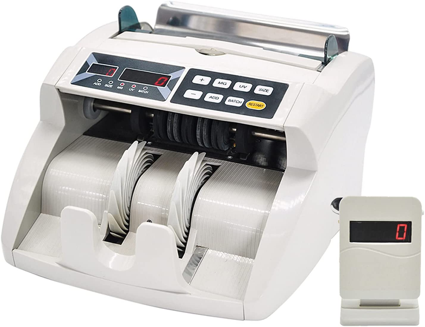 Aibesy Memphis Mall Desktop Multi-Currency Today's only Automatic Banknote Cash Money Bill