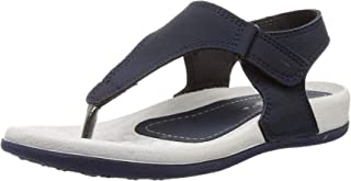 WELCOME Women's Leather Flip-Flop