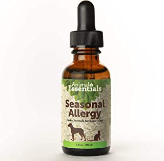 Animal Essentials Seasonal Allergy Herbal Formula for Dogs & Cats, 1 Fluid Oz - Sweet Tasting Tincture for Allergy Relief,...