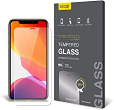 Olixar for iPhone 11 Pro Max Screen Protector - Case Friendly Tempered Glass - 9H Rated - Shock Protection - Easy Application, Card and Cleaning Cloth Included